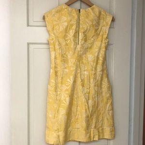 generra Dresses - Generra dandelion clock yellow mini shiftdress